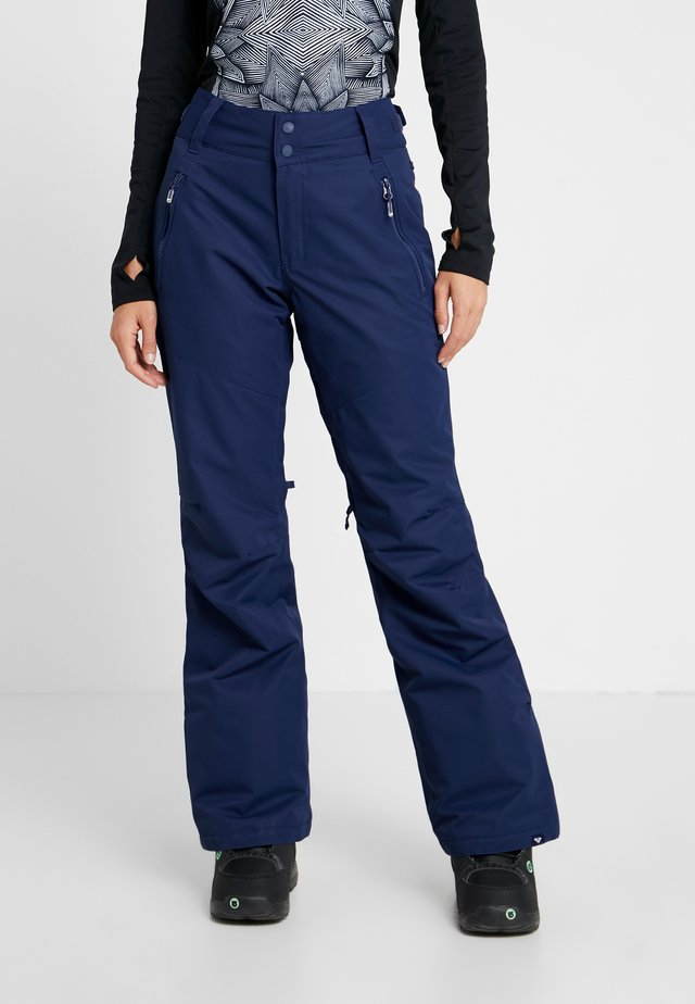 Snow pants - medieval blue
