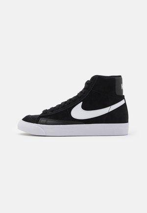 BLAZER MID - Sneakers alte - black/white