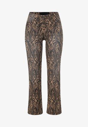 HOSE - Trousers - black
