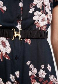 Vero Moda - VMROMA BELT ANCLE DRESS - Maxi dress - black - 6