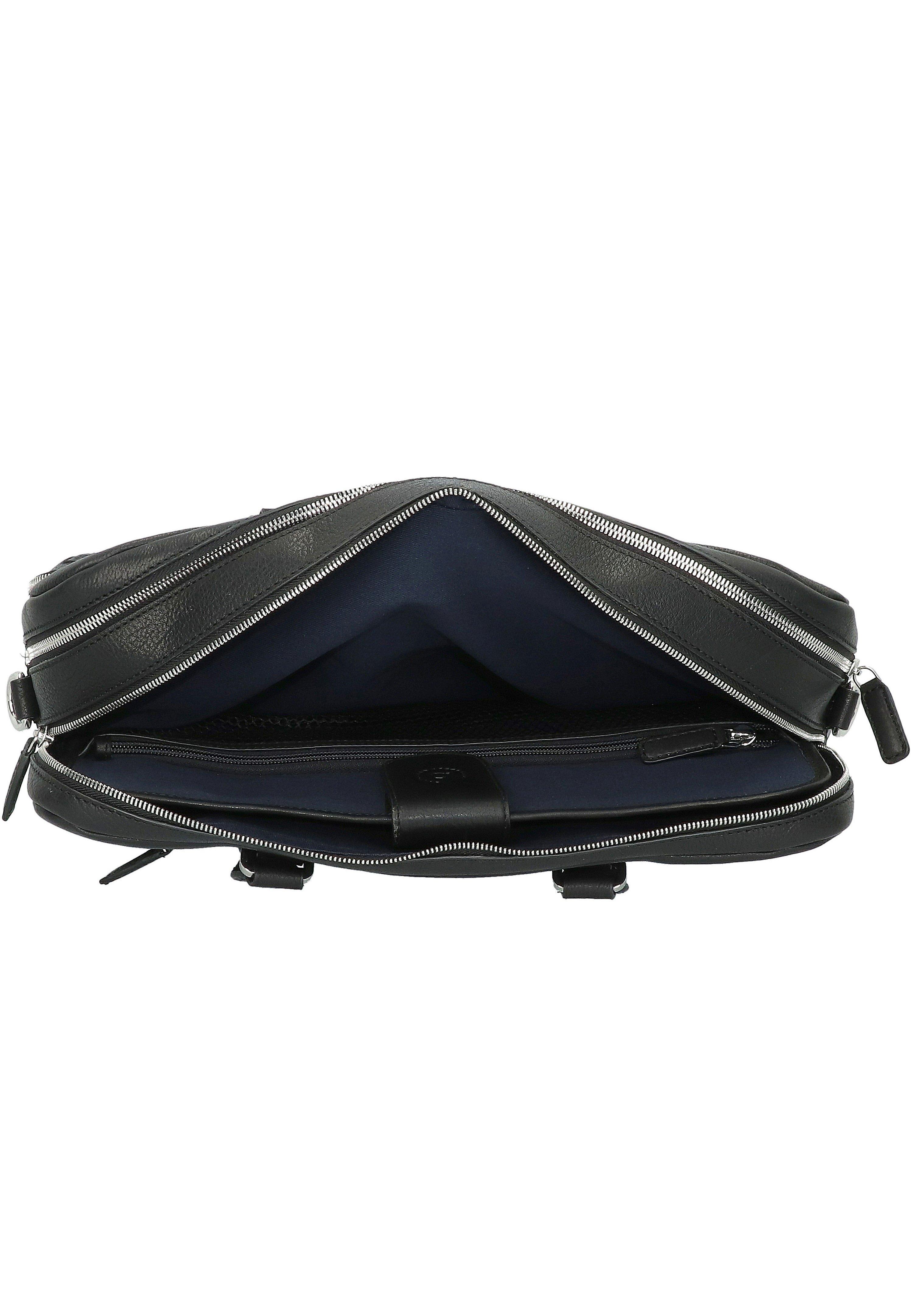 Bugatti WOVEN AKTENTASCHE  - Notebooktasche - schwarz - Herrentaschen KuZ4s