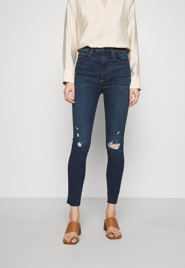 DARK CLEAN - Jeans Skinny Fit - dark blue denim