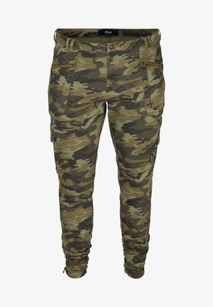 Slim fit jeans - army