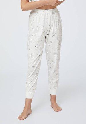 STAR  - Nattøj bukser - white