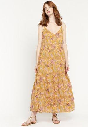 FLOWER PRINT - Maxi dress - yellow