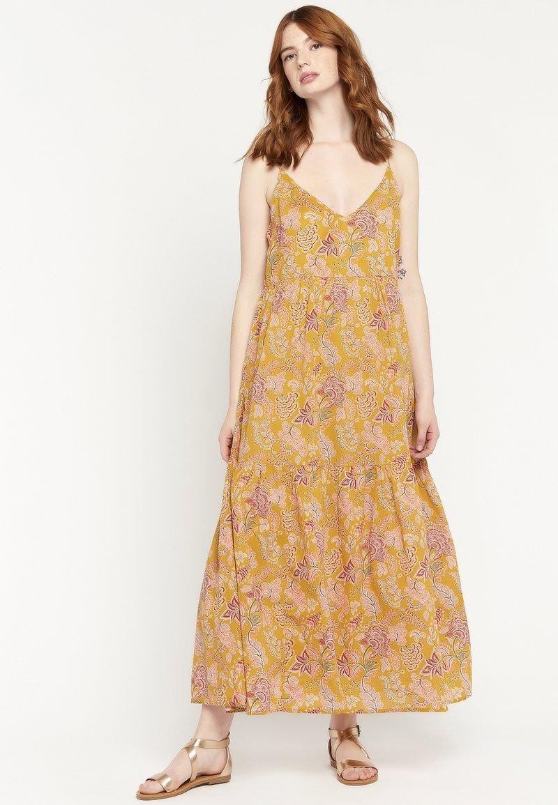 LolaLiza - FLOWER PRINT - Maxi dress - yellow