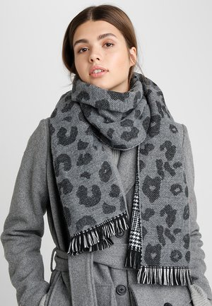 Scarf - medium grey melange