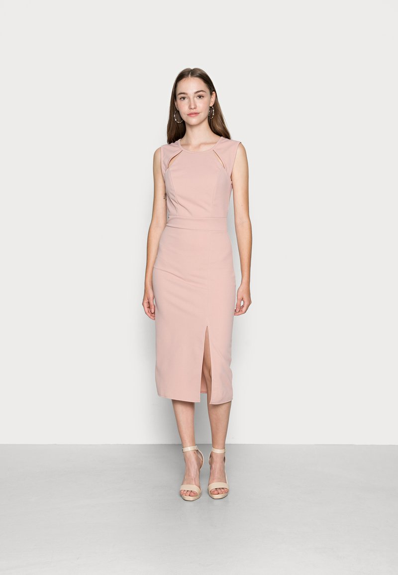 WAL G. - ALLEN MIDI DRESS - Cocktail dress / Party dress - blush pink