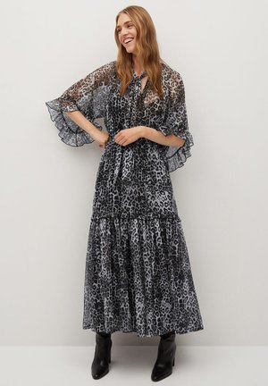 LEONE - Denní šaty - černá