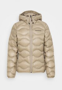 Peak Performance - HELIUM HOOD JACKET - Untuvatakki - true beige - 0