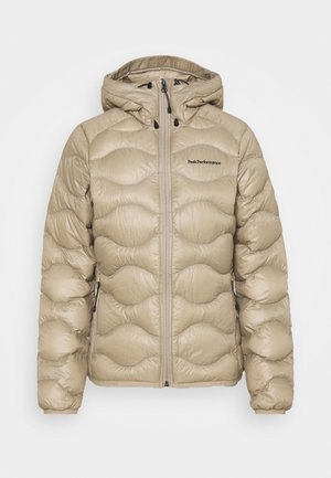 HELIUM HOOD JACKET - Down jacket - true beige