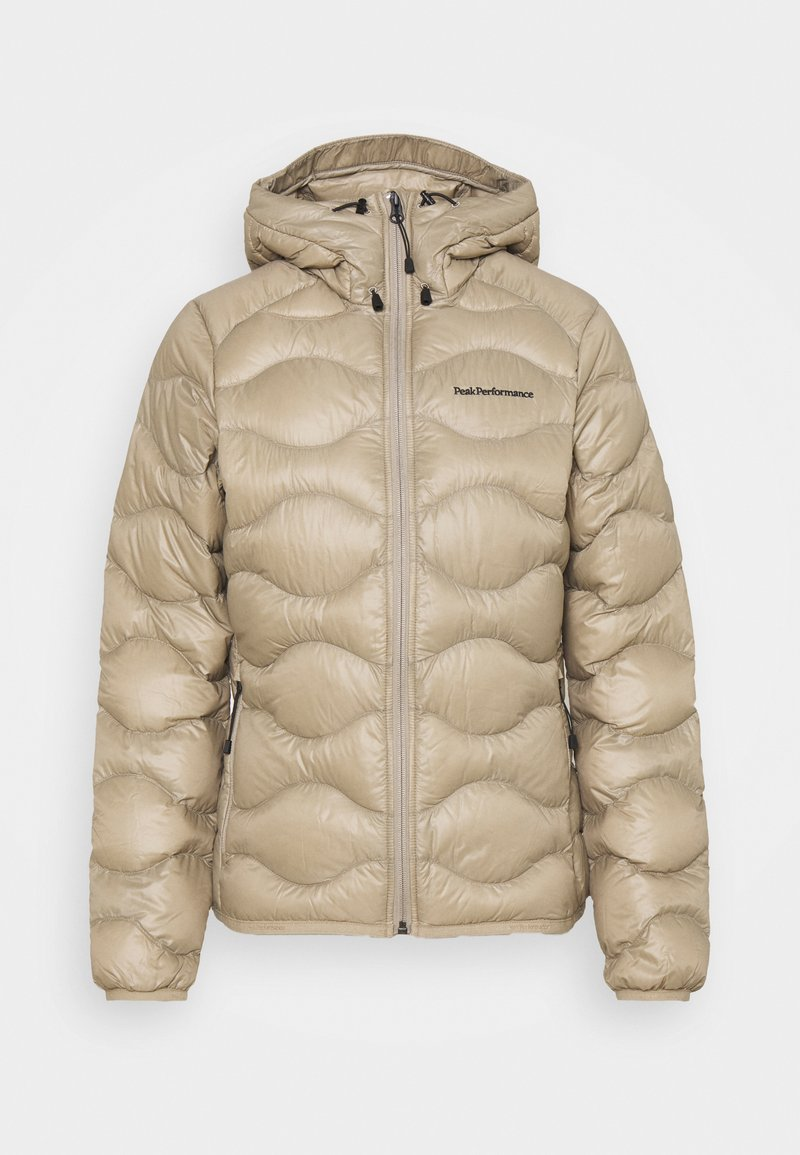 Peak Performance - HELIUM HOOD JACKET - Untuvatakki - true beige
