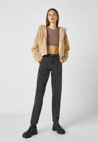 PULL&BEAR - Light jacket - mottled beige - 1