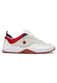 DC Shoes - Williams - Zapatillas skate - WHITE/NAVY/RED - 4