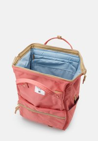 anello - BACKPACK COLOR BLOCK LARGE UNISEX - Batoh - coral pink - 2