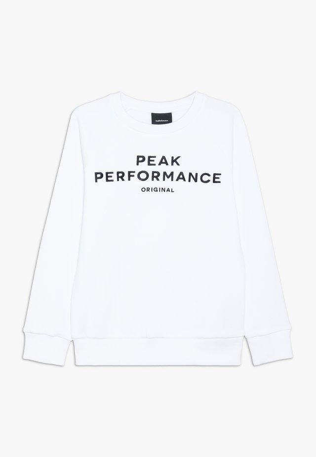 ORIGINAL - Sweatshirt - white