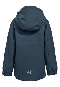 Vaude - KIDS CAMPFIRE 3IN1 JACKET IV - Outdoor jacket - steelblue - 1