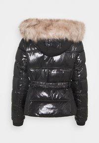 River Island Petite - HAMILTONQUILTED DOUBLE ZIP  - Winter jacket - black - 1