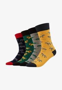 Jimmy Lion - GALAXY SAFARI 4 PACK - Chaussettes - multicoloured - 1