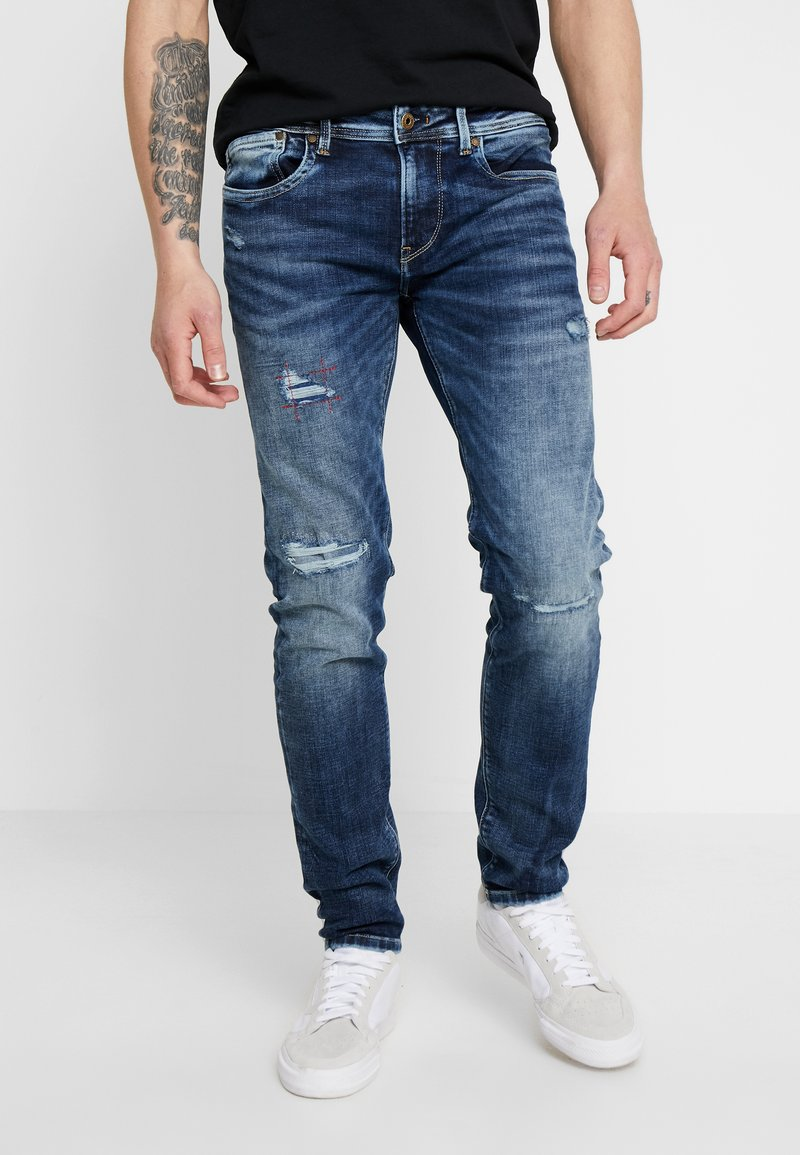 Pepe Jeans - HATCH - Jeansy Slim Fit - dark used