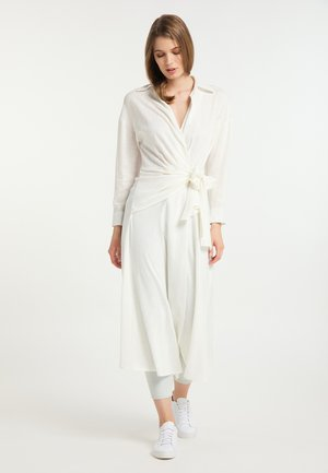 Robe chemise - wollweiss
