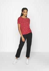 Ragwear - PECORI - Print T-shirt - red - 1