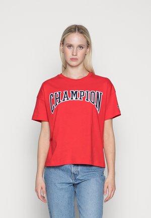 CREWNECK - T-shirts med print - red