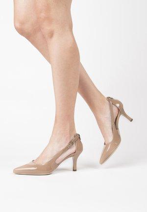 E011083DE - Classic heels - pink