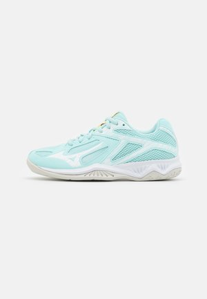 LIGHTNING STAR Z6 JUNIOR UNISEX - Volleyball shoes - clear water/white/tennis ball