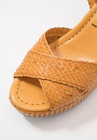 Pons Quintana - High heeled sandals - mostaza - 2