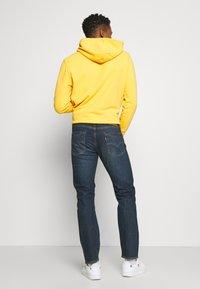 Levi's® - 502™ REGULAR TAPER - Jeans Tapered Fit - dark indigo/worn in - 2