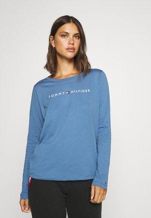 LOGO - Pyžamový top - iron blue