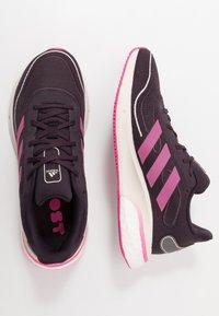 adidas Performance - SUPERNOVA SPORTS RUNNING SHOES UNISEX - Neutral running shoes - purple - 0