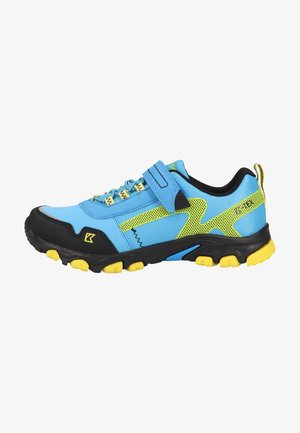 Trainers - blue/yellow