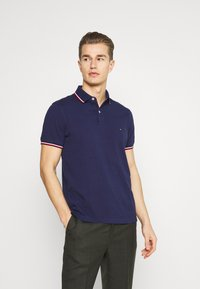 Tommy Hilfiger - TIPPED SLIM - Polo - yale navy - 0
