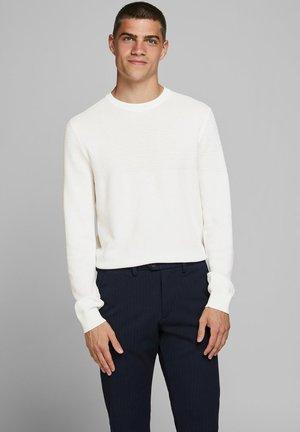 Strickpullover - blanc de blanc
