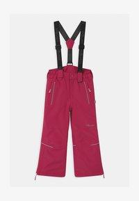 TrollKids - KIDS HOLMENKOLLEN SNOW SLIM FIT UNISEX - Snow pants - rubine-magenta - 0
