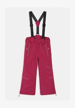 KIDS HOLMENKOLLEN SNOW SLIM FIT UNISEX - Snow pants - rubine-magenta