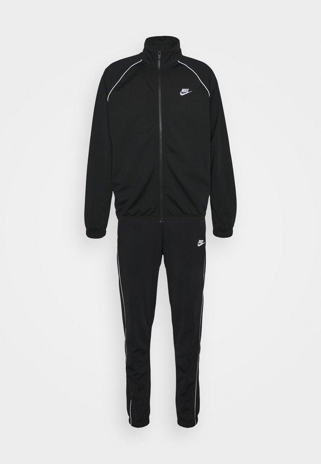 SUIT SET - Veste de survêtement - black/white