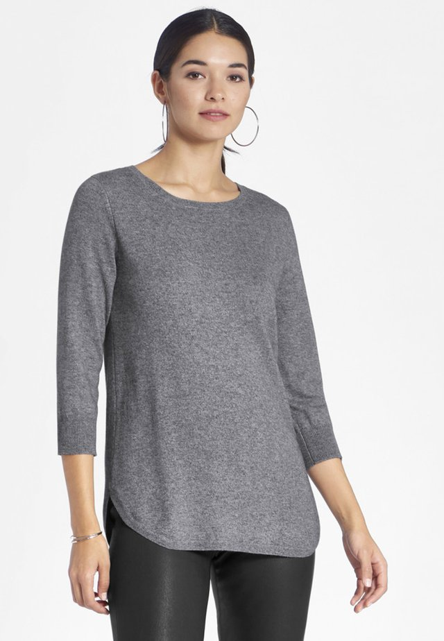 RUNDHALS - Jumper - grey