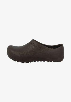 PROFI-BIRKI - Pantolette flach - brown