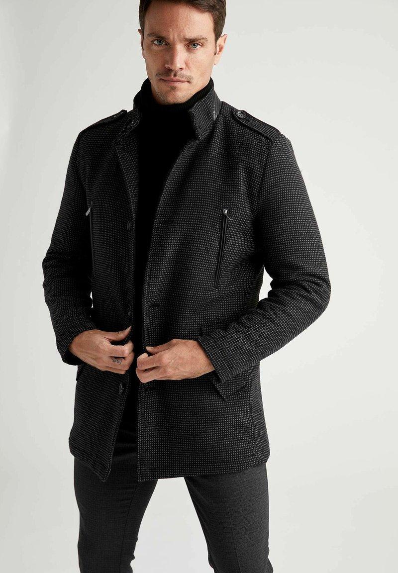 DeFacto - Klassinen takki - black
