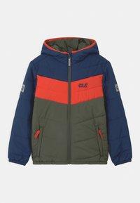 Jack Wolfskin - THREE HILLS UNISEX - Winter jacket - thyme green - 0