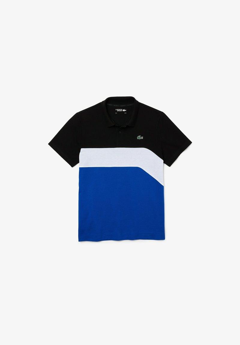 Lacoste Sport - Polo shirt - schwarz weiß blau