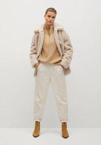 Mango - WOODI - Winter coat - écru - 1