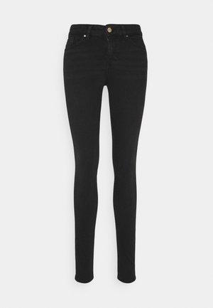 ONLANNE MID SKINNY  AGI - Jeans Skinny Fit - black
