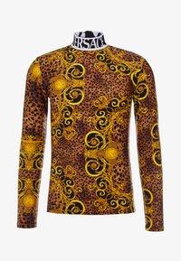 Versace Jeans Couture - MAGLIETTE  - Långärmad tröja - gold - 3