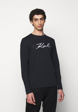 CREWNECK - Long sleeved top - navy