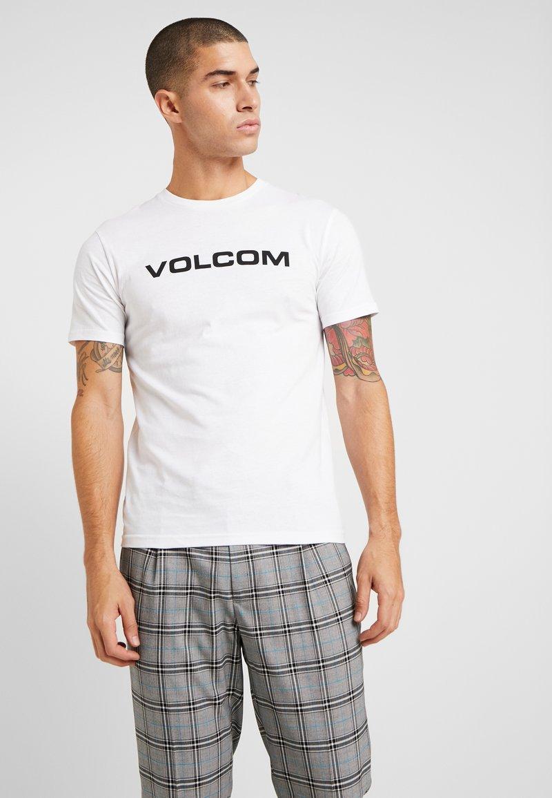 Volcom - CRISP EURO - Print T-shirt - white