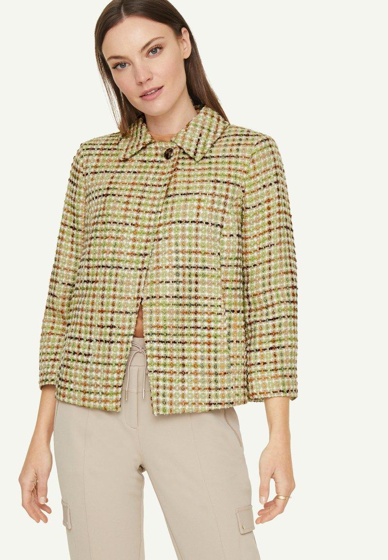 comma - Light jacket - spring green jaquard
